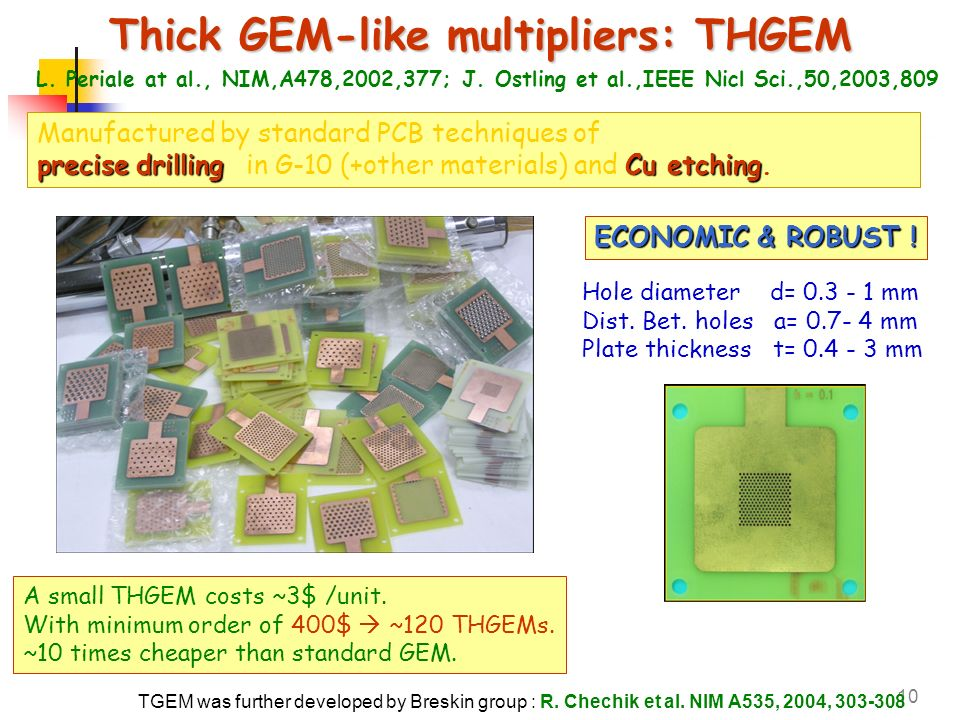 Thick GEM-like multipliers: THGEM
