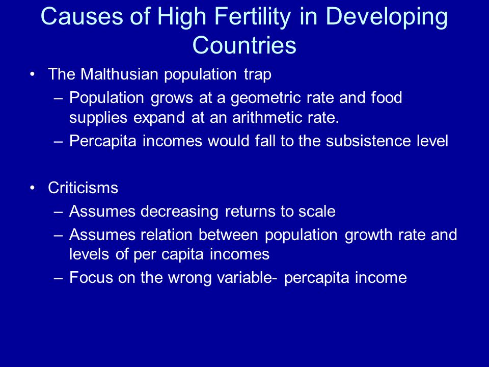 malthusian theory in relation to the The core of malthusian theory, may therefore, be best captured by the 'dependent' role he assigns to population growth in relation to the independent factors of environment and technology figure 1.
