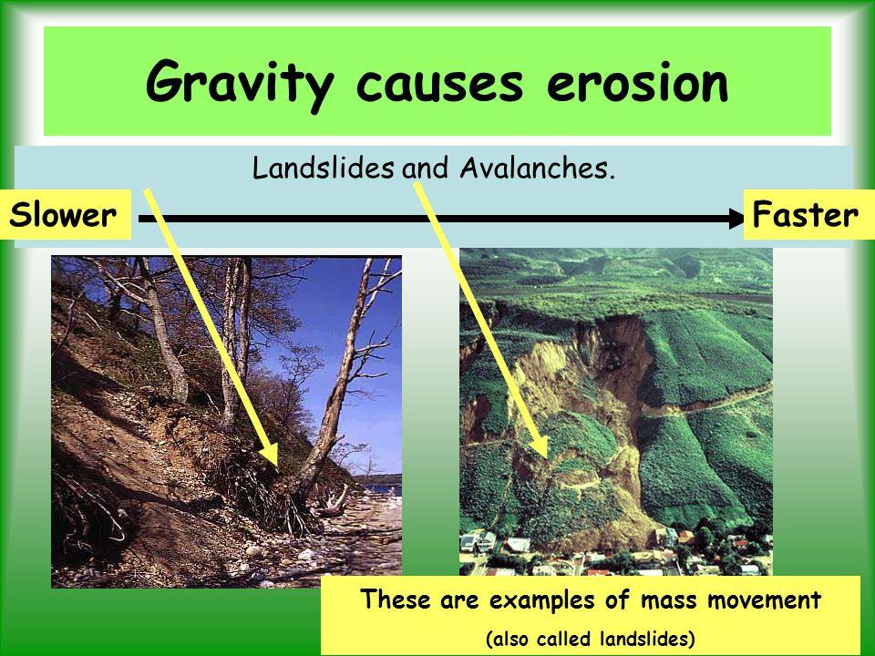 causes erosion