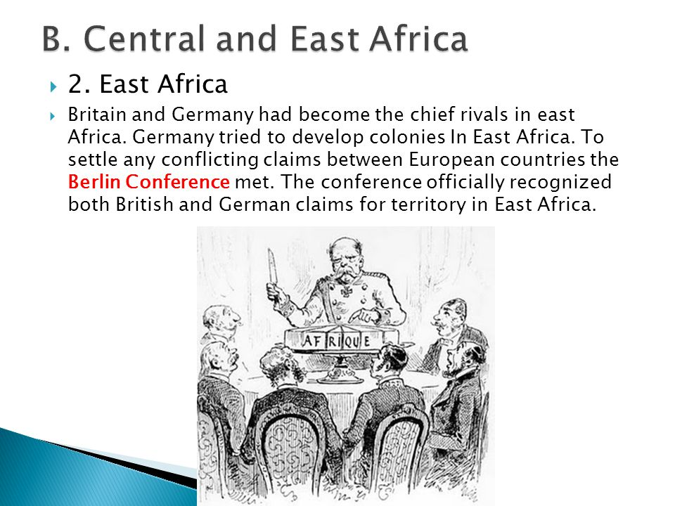 B. Central and East Africa