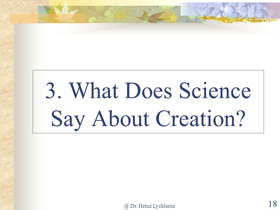 What Does The Bible Say About Natural Selection