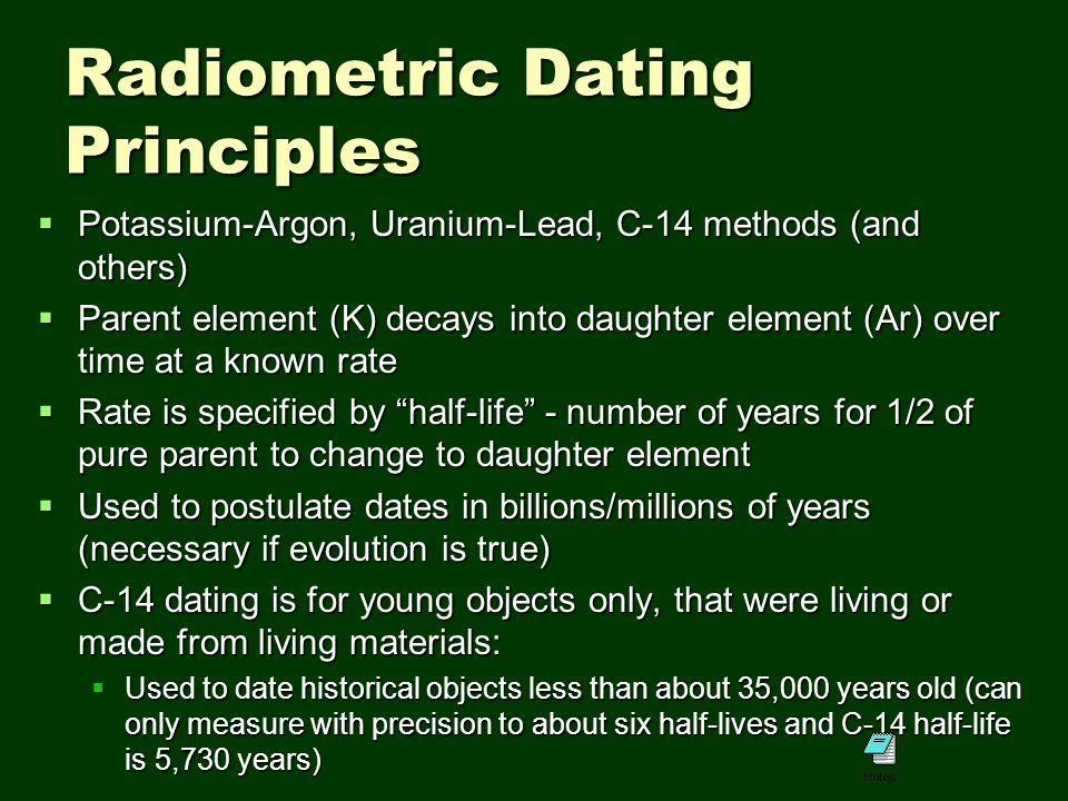 principle behind radioactive dating A radioactive tracer, or radioactive label,  radiocarbon dating uses the  tritium is an example of a radioactive isotope the principle behind the use of.