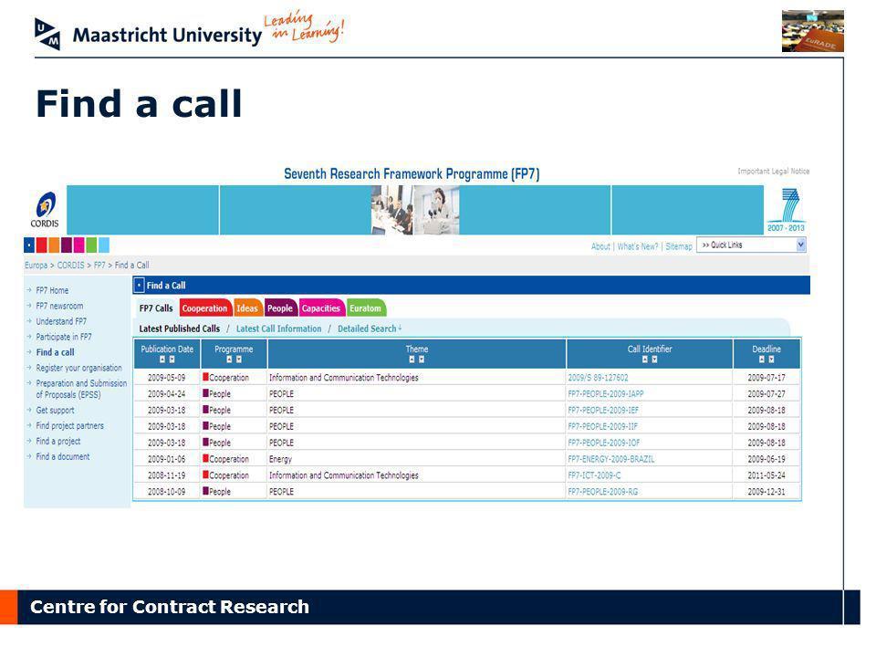 Find a call