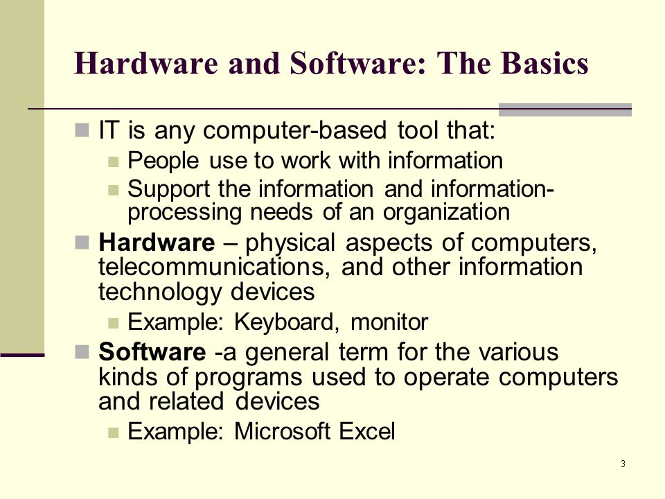 fundamentals of hardware and software In the two following sections we separately consider hardware and software   figure a1: basic hardware components of an image analysis computer system.