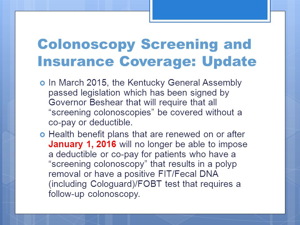 Colon Cancer In Kentucky Date Ppt Download
