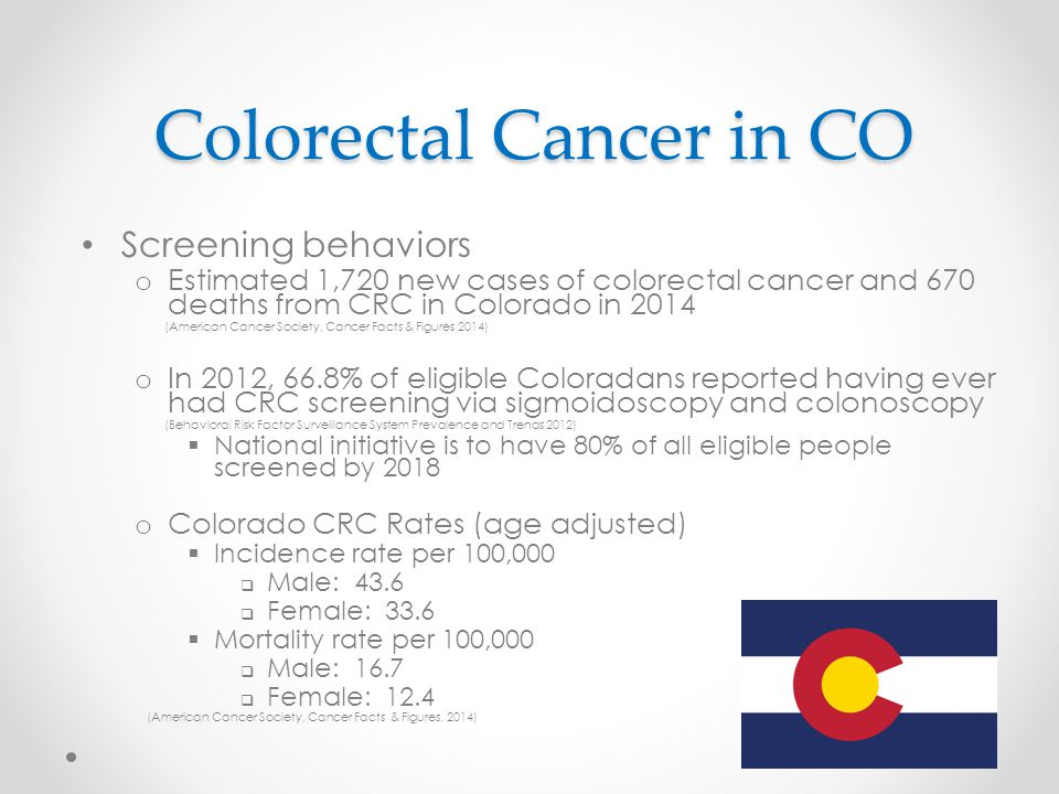 Colorectal Cancer Screening Ppt Download