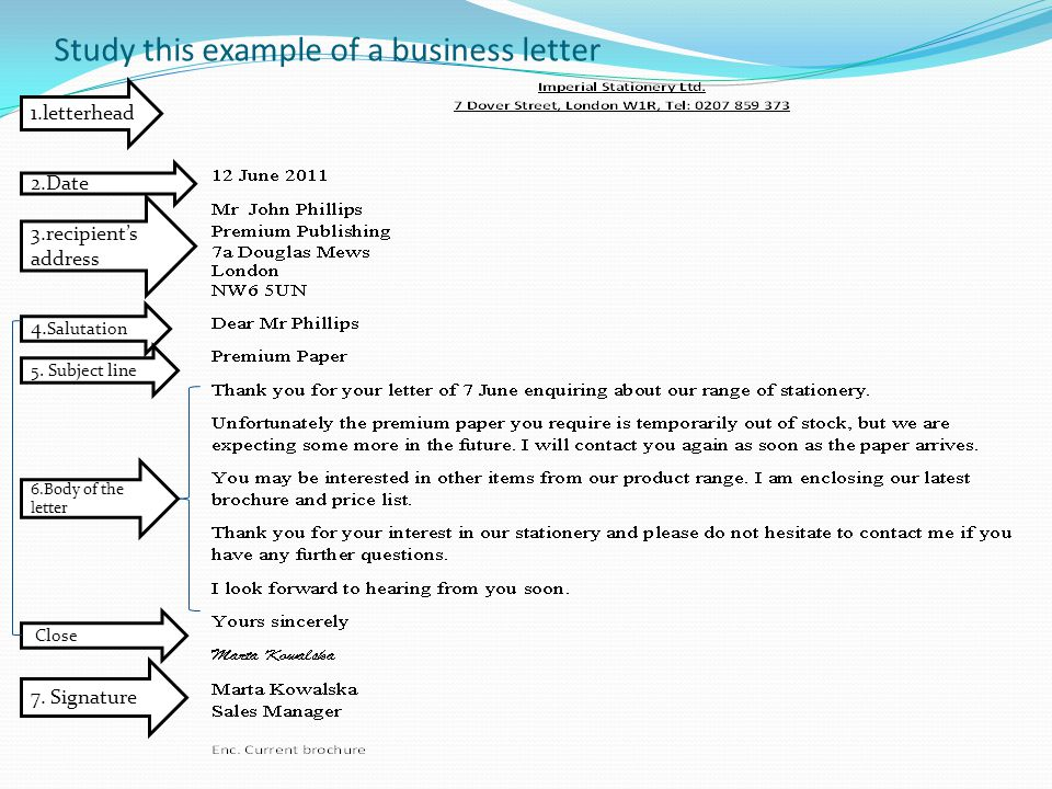Business Correspondence - Ppt Video Online Download