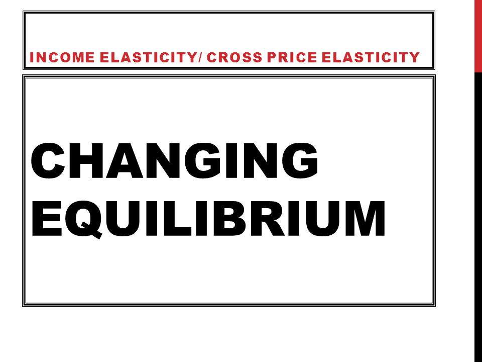 the changing price elasticity of demand A demand curve with constant slope over all quantity values can have a continuously changing price elasticity of demand a) true b) false 4 when.