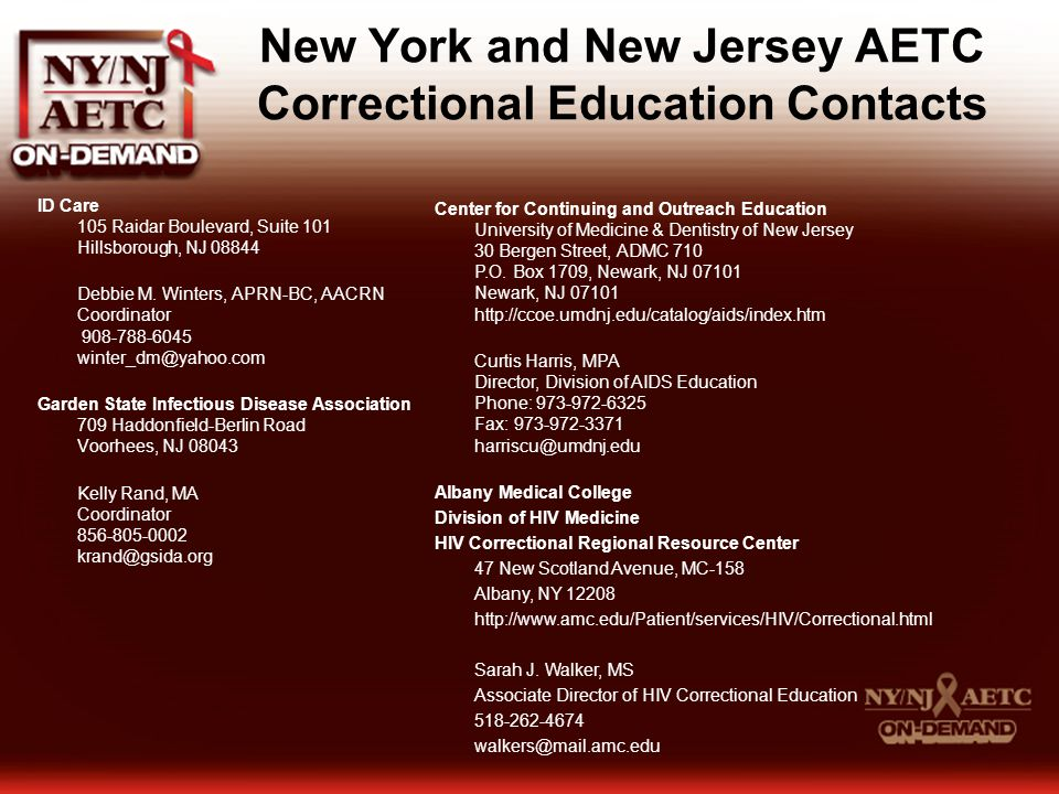 correctional healthcare in new jersey an overview ppt video online download