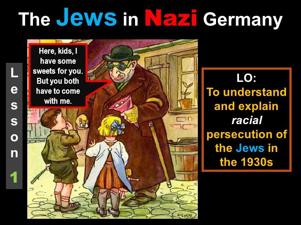 nazi germany and jewish children The newlyweds came to berlin as students, a pair of latvian jews who wanted to make it big in singing in 1934, just after adolf hitler took control of germany, the young jewish woman became.