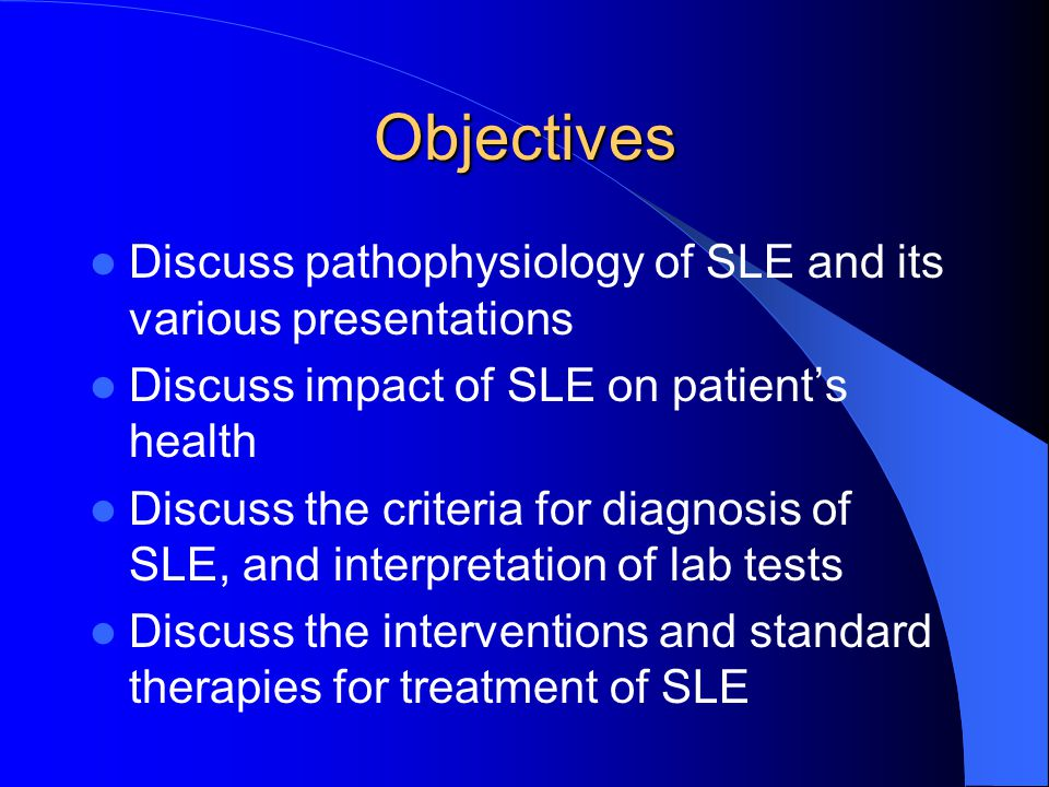 Systemic lupus erythematosus: diagnosis and management
