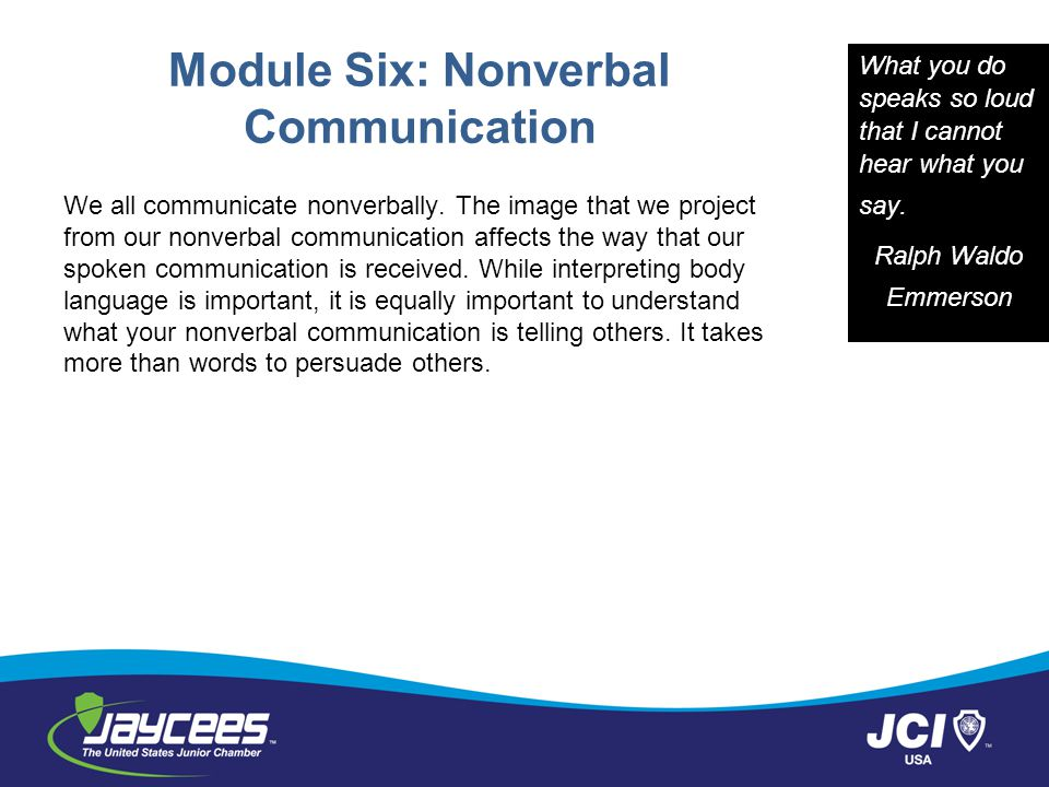 three important contents in nonverbal communication Counselors are trained to discern nonverbal communication in clients there is more than what the counselee is saying understanding non-verbal communication and it is one of the most important tasks of the counselor (rogers, 1957 cormier & cormier.