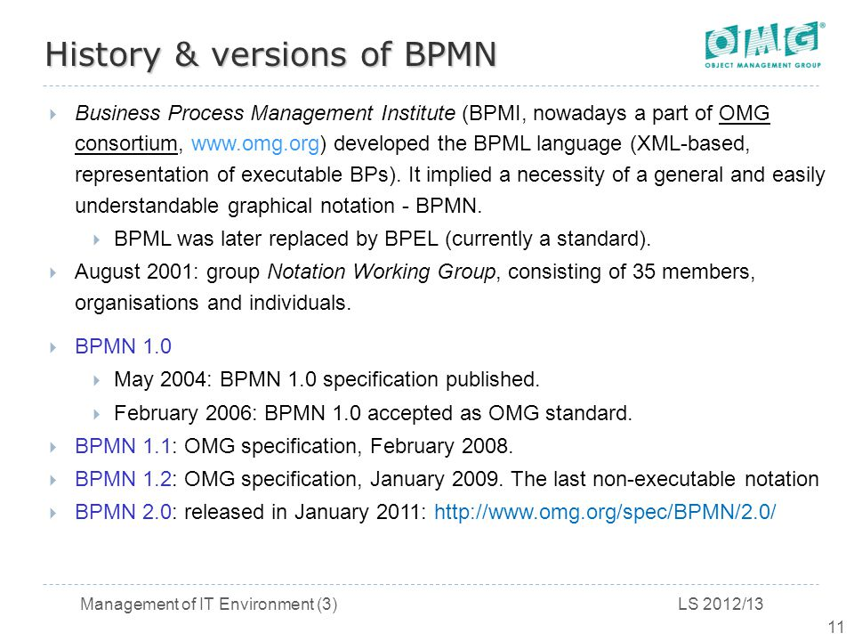 history versions of bpmn - Bpmn Xml