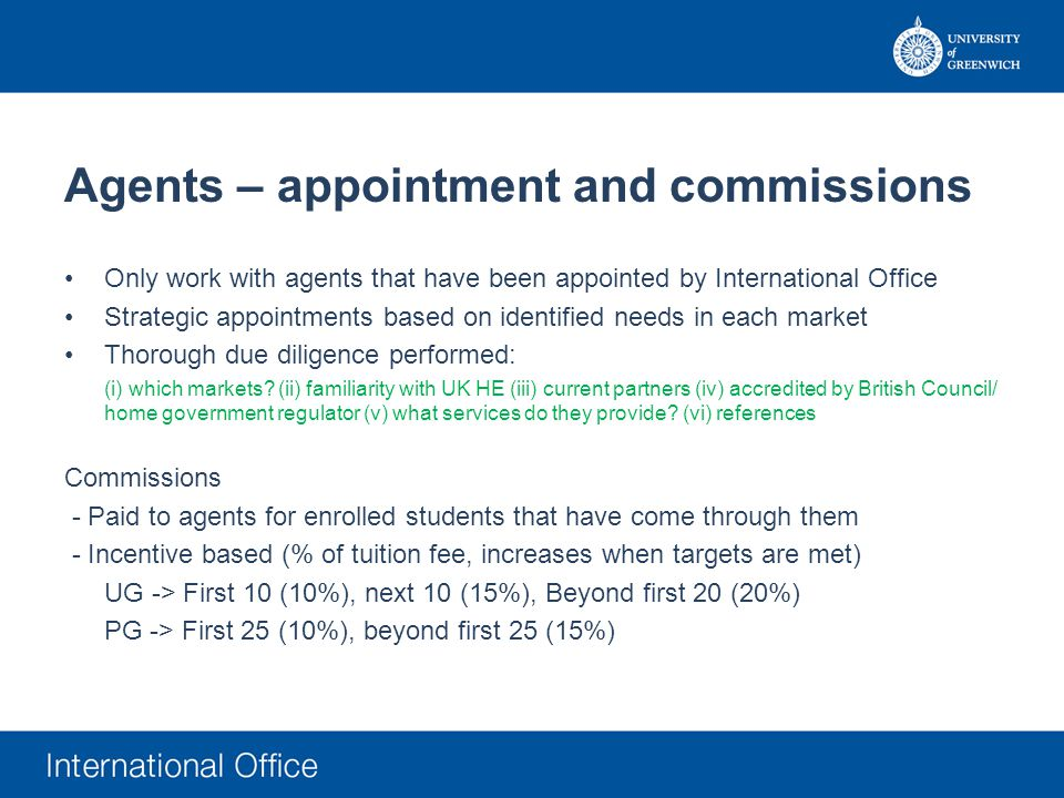 agent assessed deferral application registered agent only
