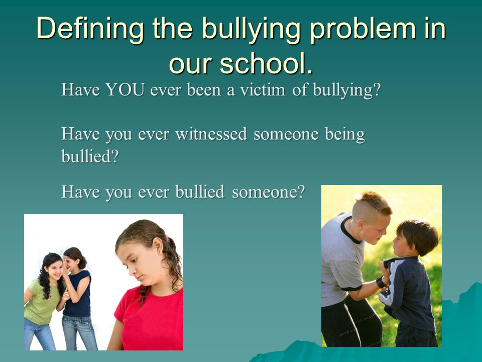 Bullying and The Remedy