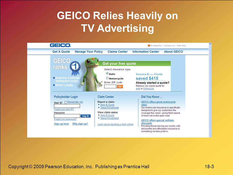 Marketing management 13th ed ppt video online download 3 geico fandeluxe Choice Image