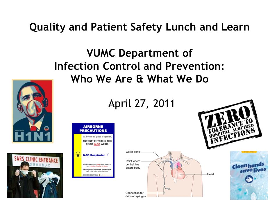 health safety infection control