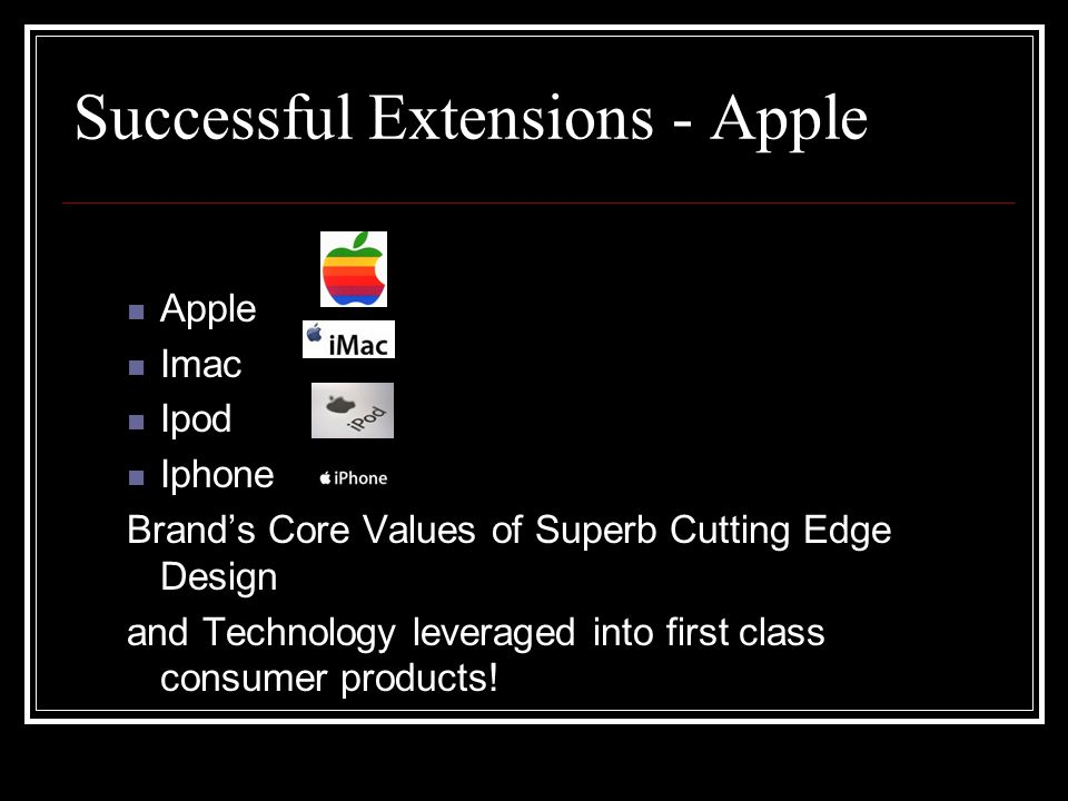 apple brand extension Product extension type role growth strategy cannibalization apple smart tv category extension economies of scale market developme nt yes: it is an assumption apple would include everything and more that the apple tv device does.