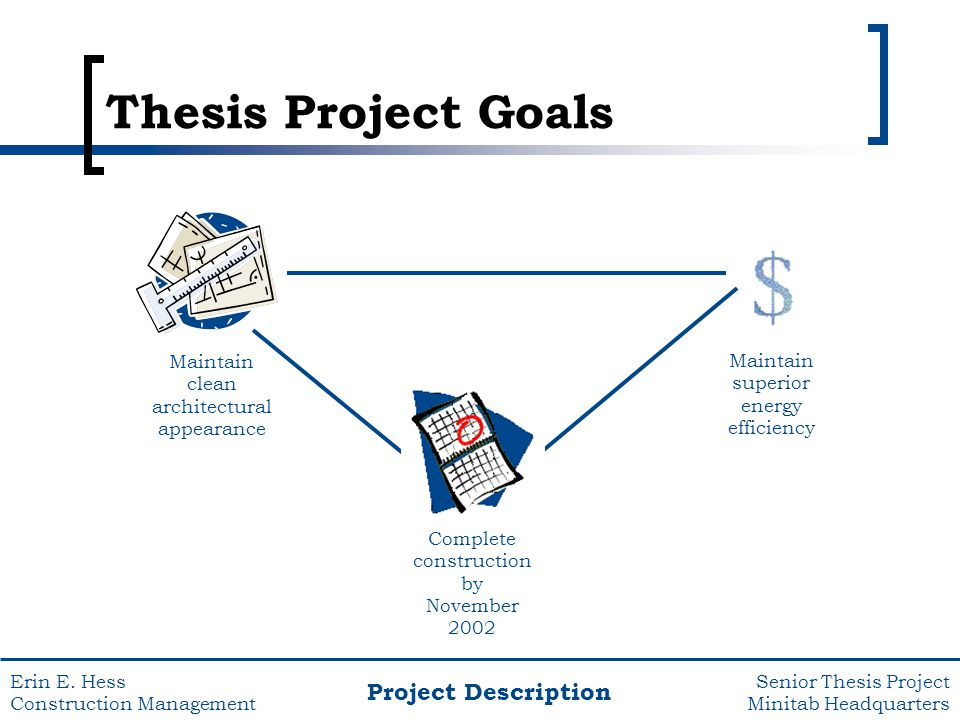 thesis on project management - construction Project risk management: procurement, construction, oil and gas, project management this thesis will focus on a typical epc project as the case study and.