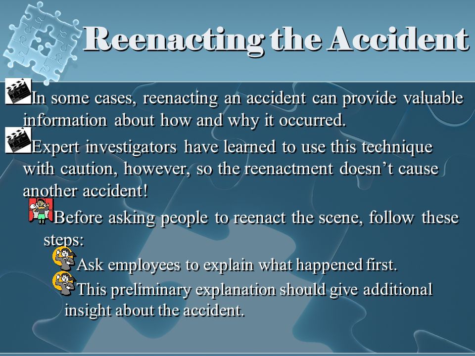 ACCIDENT INVESTIGATION - ppt download