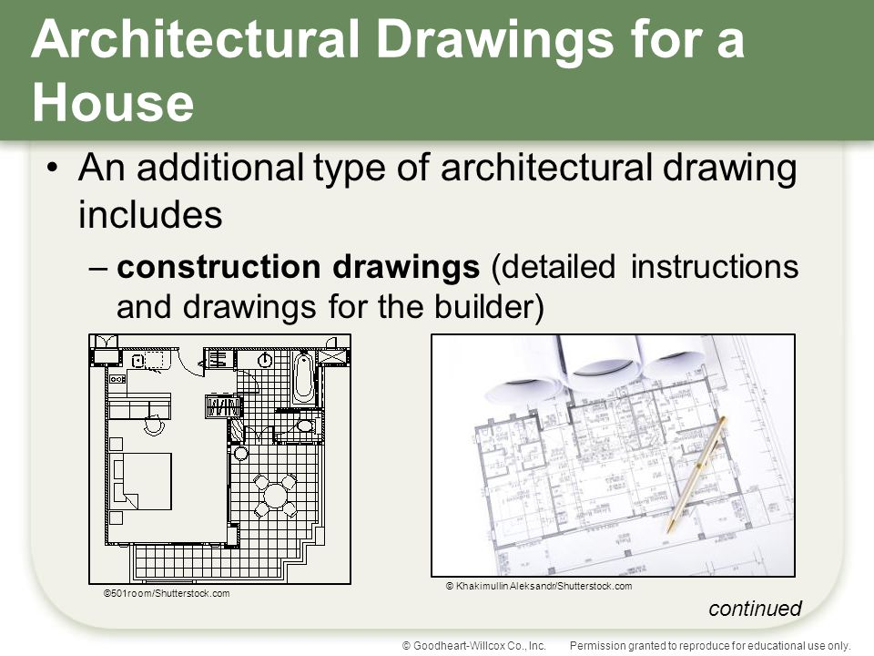 Understanding house plans ppt video online download for Architectural drawings online