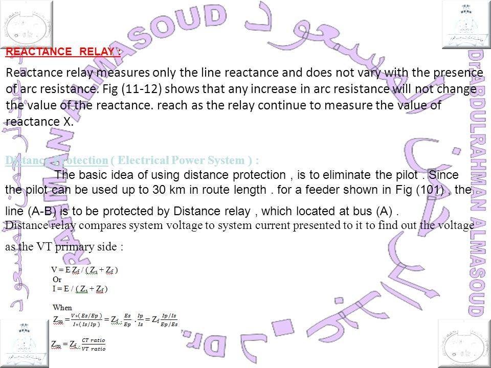 Differential protection : (protective relaying by Blackburn) - ppt ...