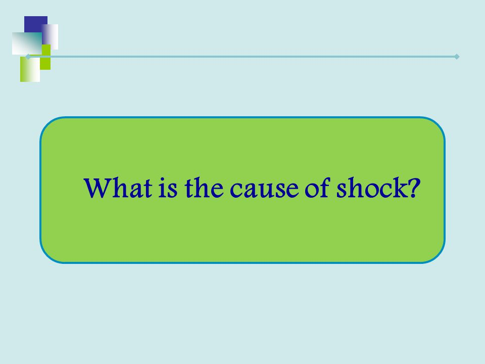 What is the cause of shock