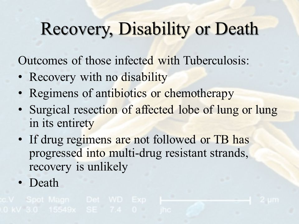 Recovery, Disability or Death