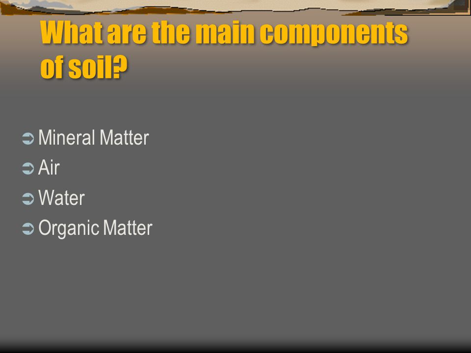 Weathering ppt download for Importance of soil minerals