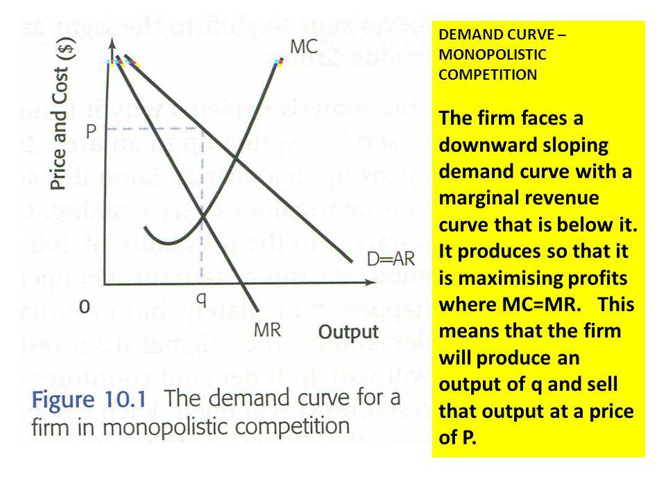 Monopolistic competition ppt download demand curve monopolistic competition ccuart Image collections