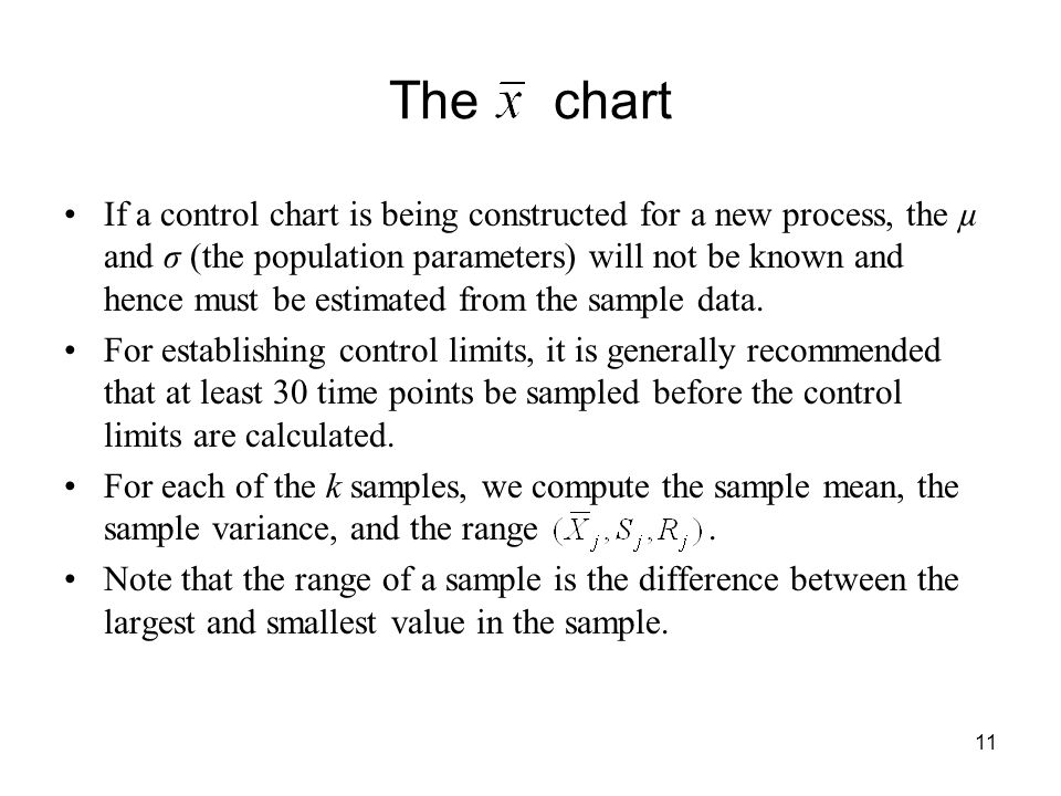 statistical quality control charts pdf