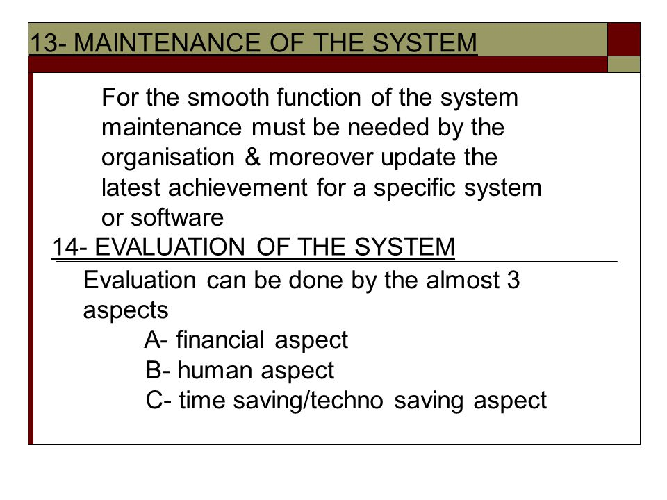 maintaining human resources systems Information system, an integrated set of components for collecting, storing, and processing data and for providing information, knowledge, and digital products business firms and other organizations rely on information systems to carry out and manage their operations, interact with their customers.