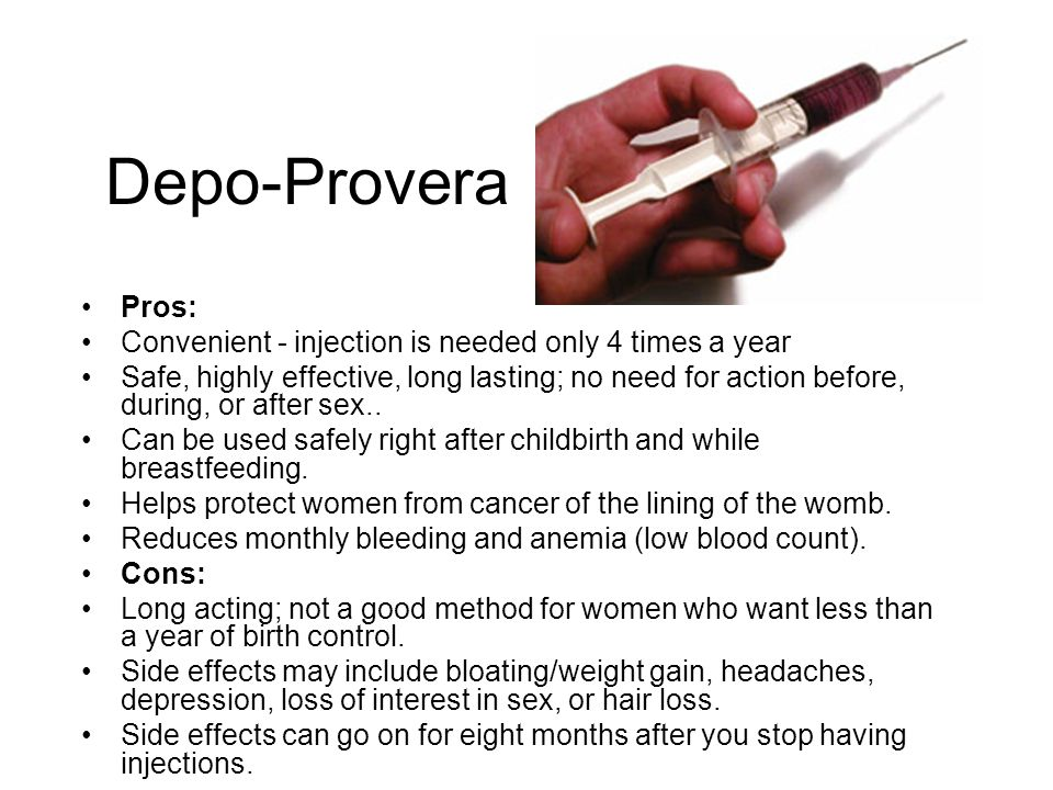 Provera Side Effects After Stopping