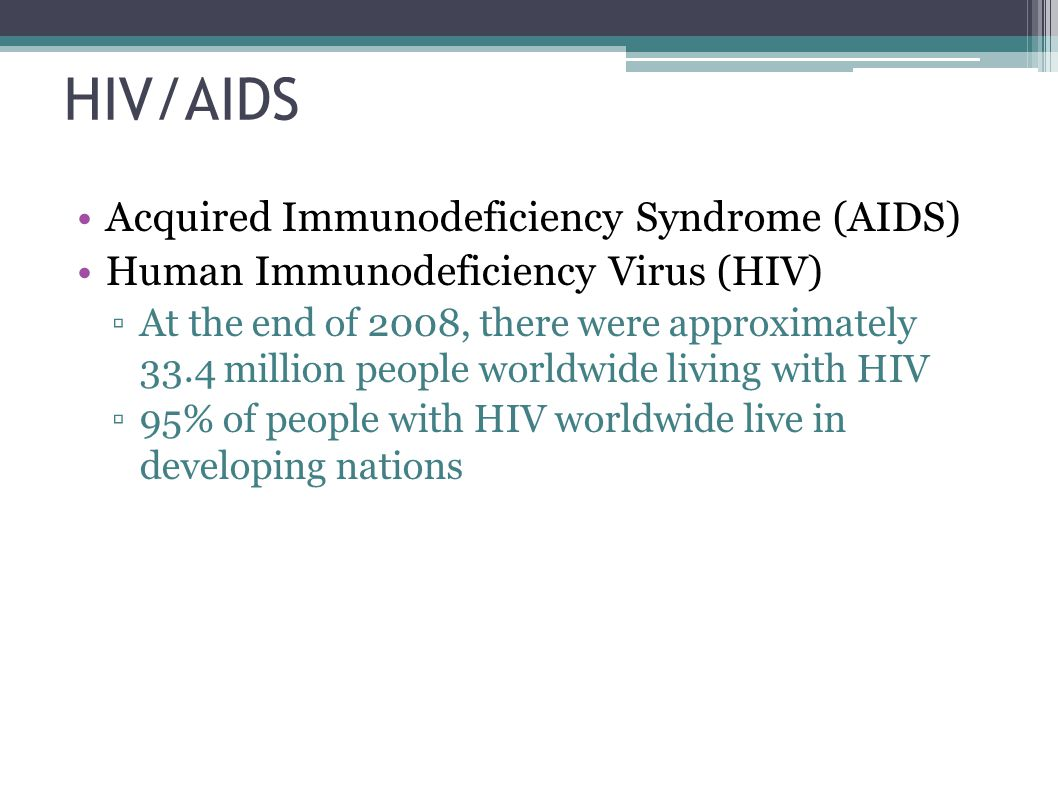 an essay on acquired immunodeficiency syndrome aids Read acquired immunodeficiency syndrome free essay and over 88,000 other research documents acquired immunodeficiency syndrome acquired immunodeficiency syndrome (aids) is a collection of symptoms and infections, caused by hiv, which damage the immune system.