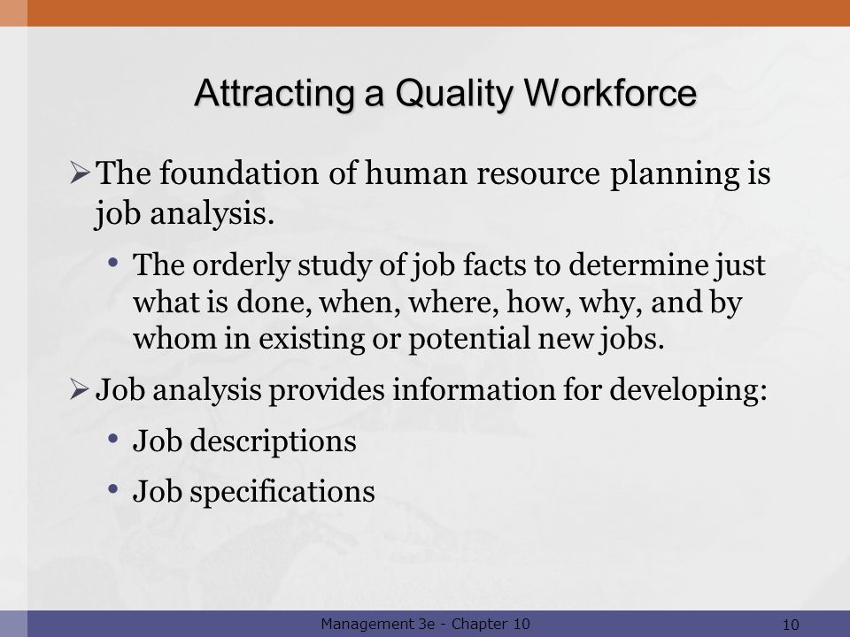 Essays on How Organizations Attract A Quality Workforce