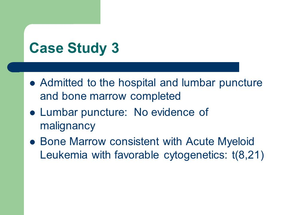 Oncology & Cancer Case Studies | Medical Professionals