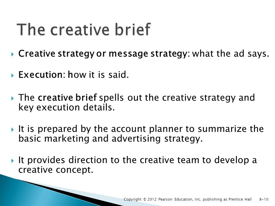 creative brief mars incorporated Below is an example of a design problem and brief remember, the presentation is important especially if you are taking the graphic products course above all.