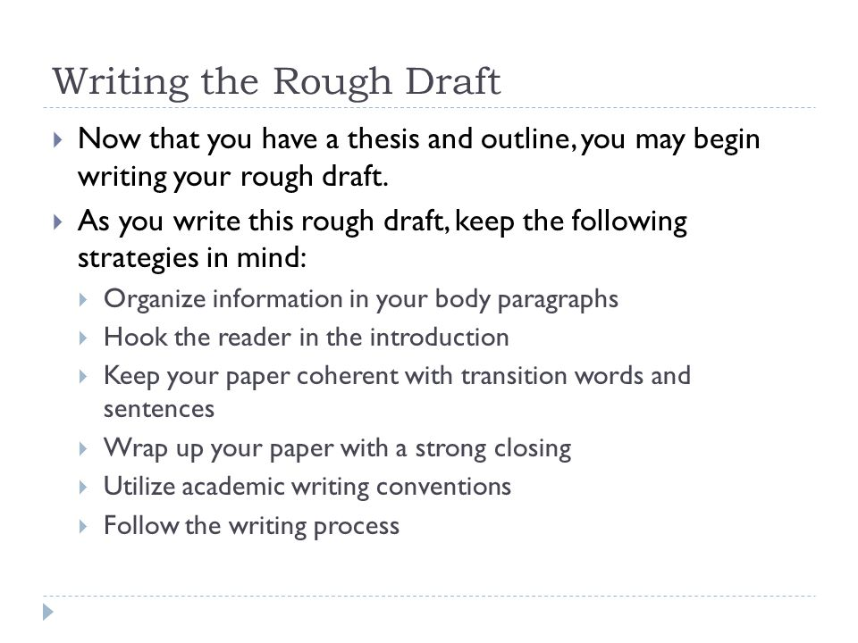 when writing the body of a process essay you must You can use the writing process to help you think the heart of the essay the middle part of the essay must fulfil the promises writing essays tour writing.