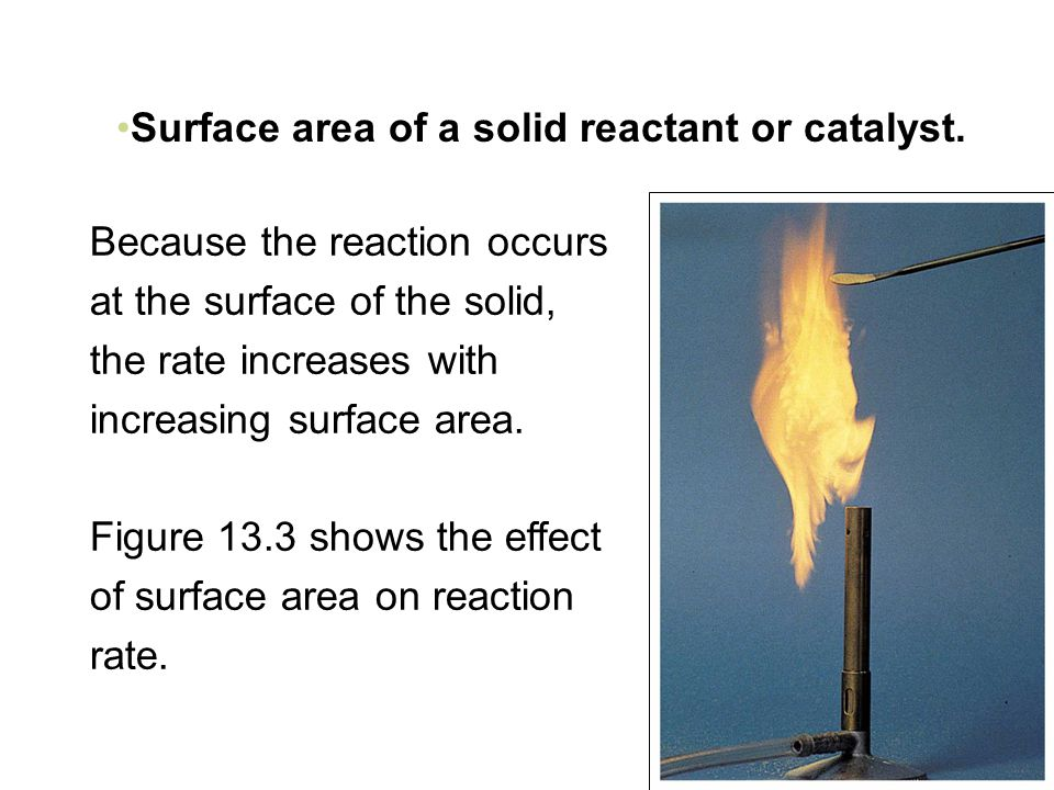 affect of surface area on rate How surface area to volume ratio affects the rate of diffusion in substrates and how this relates to the size and shape of living organisms.