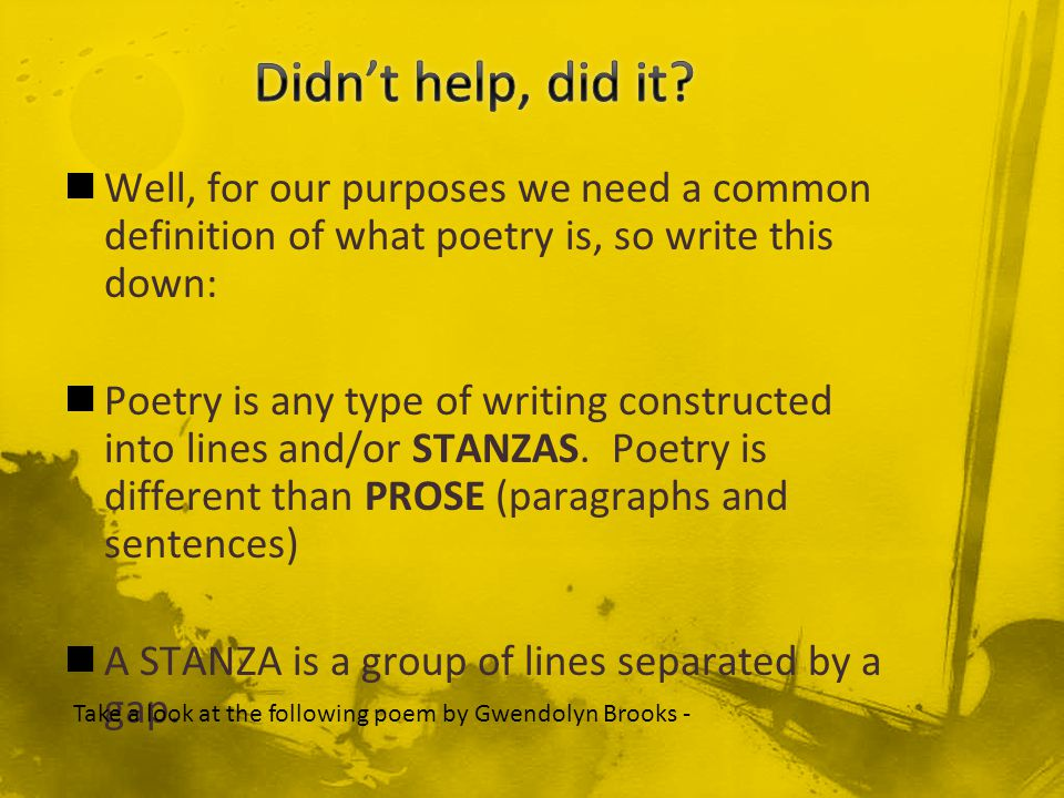 Poetry what is it ppt video online download - What is the meaning of commode ...
