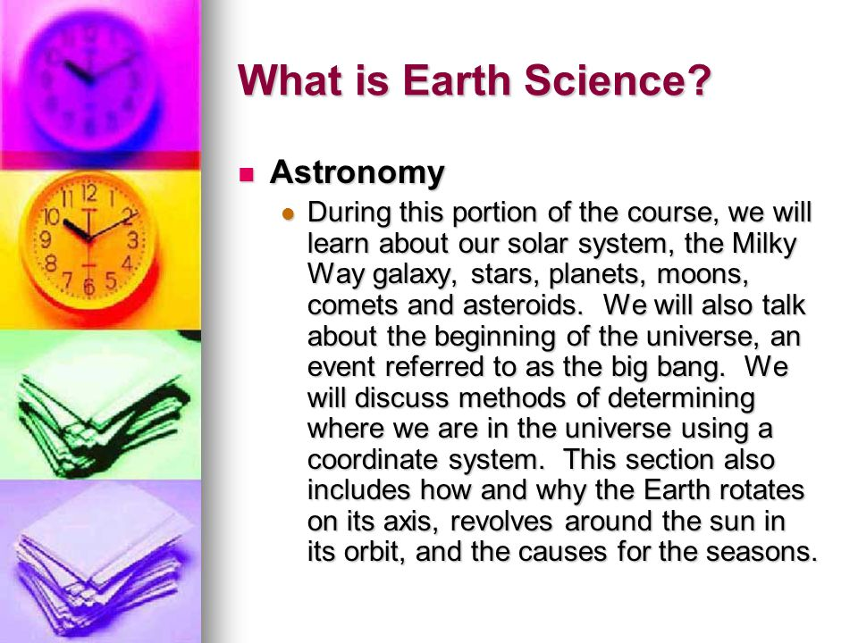 What is Earth Science Astronomy