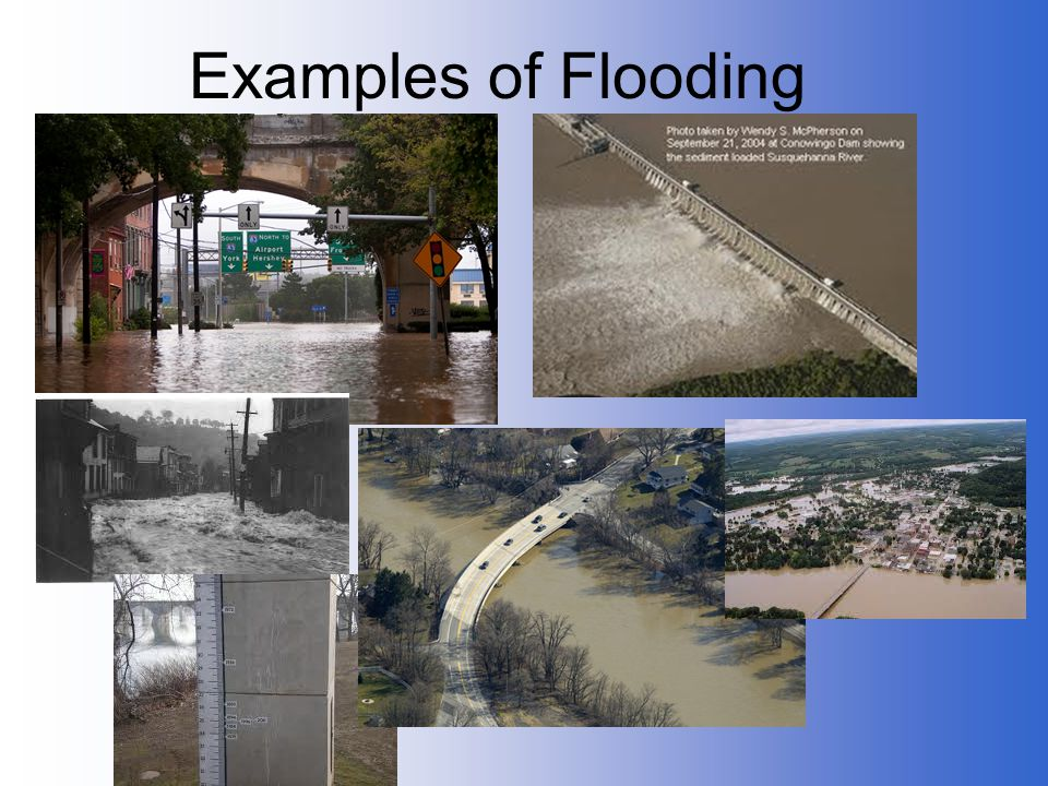 Examples of Flooding