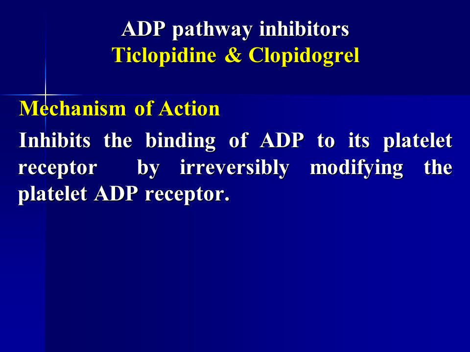 Antiplatelet Drugs (Anti-thrombotics) - ppt video online