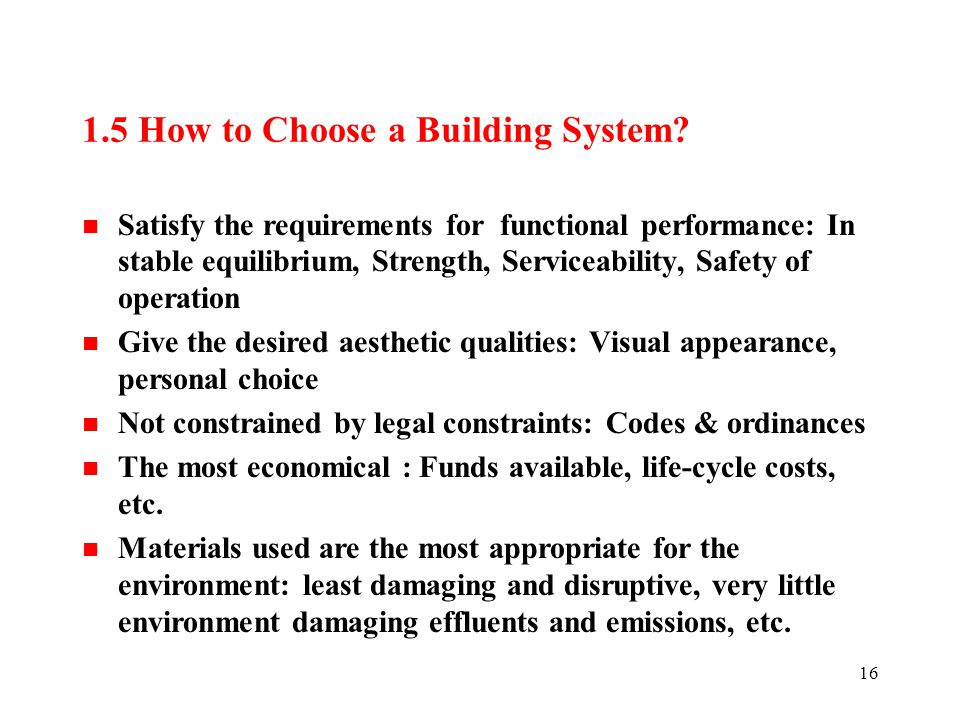 materials and methods of construction ppt download