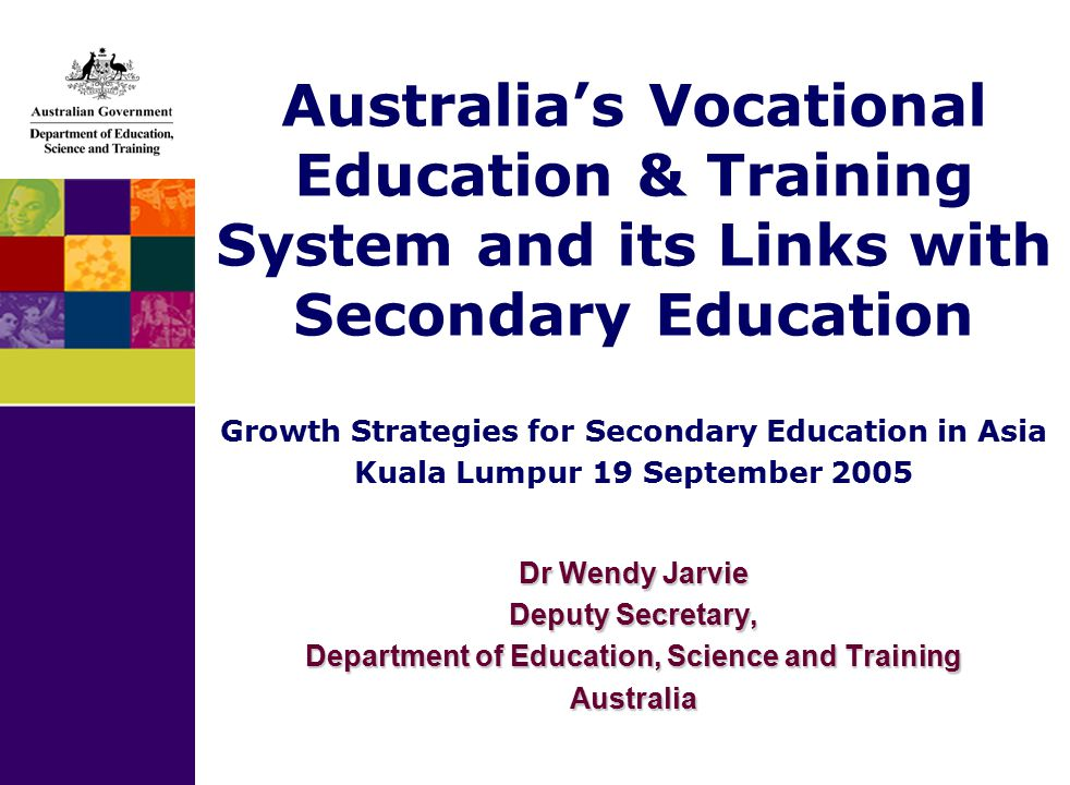 vocational education in australia pdf