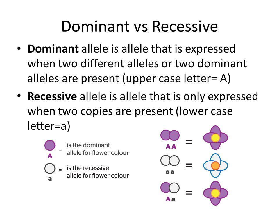 Dominant Recessive Mendelian Genetic SC.9...