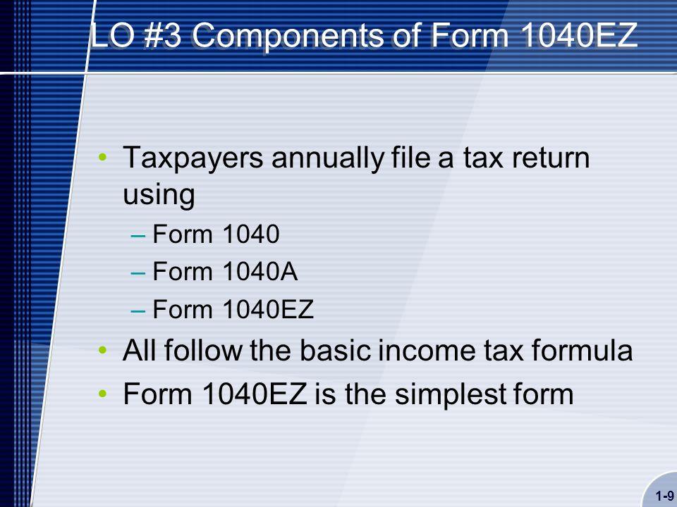 1040 ez tax forms images for 1040ez line 10 tax table