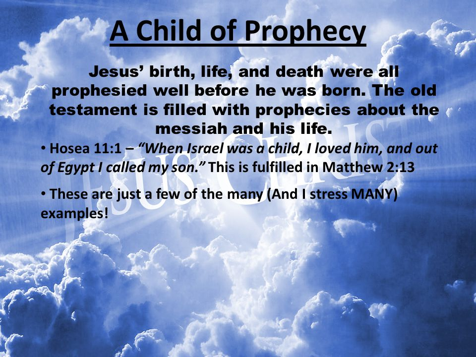 A Child of Prophecy
