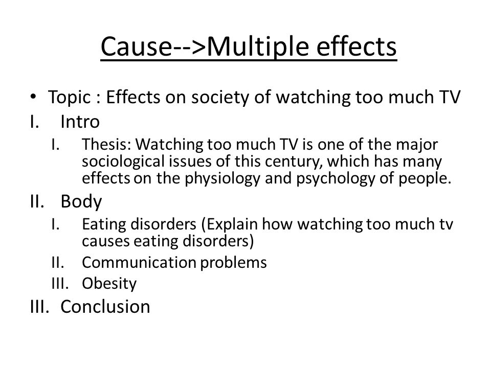 Cause And Effect Essay  Ppt Video Online Download  Causemultiple Effects