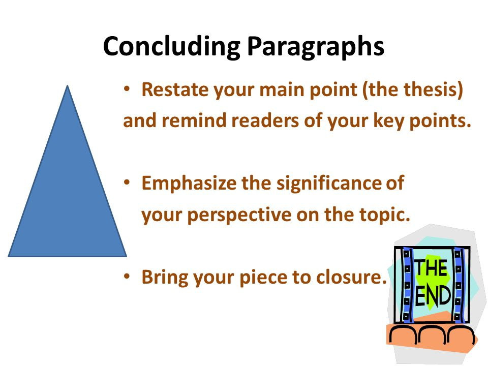 write conclusion paragraph history essay Learn how to write a great conclusion paragraph to your essay check out all our essay writing resources and worksheets click here.